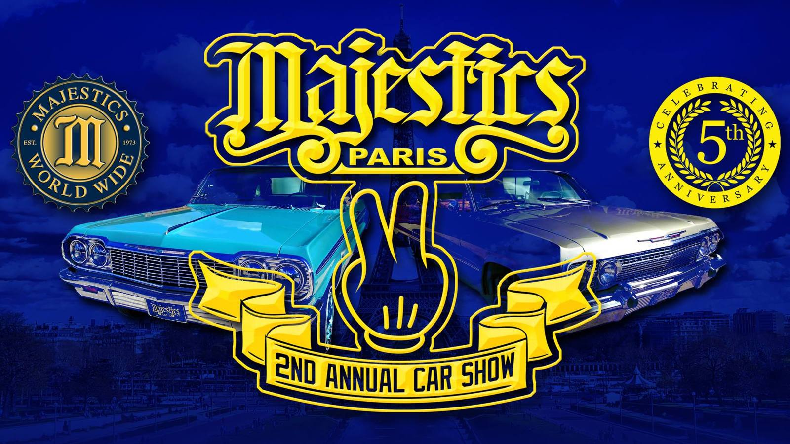 Majestics Paris 2nd Annual Car Show
