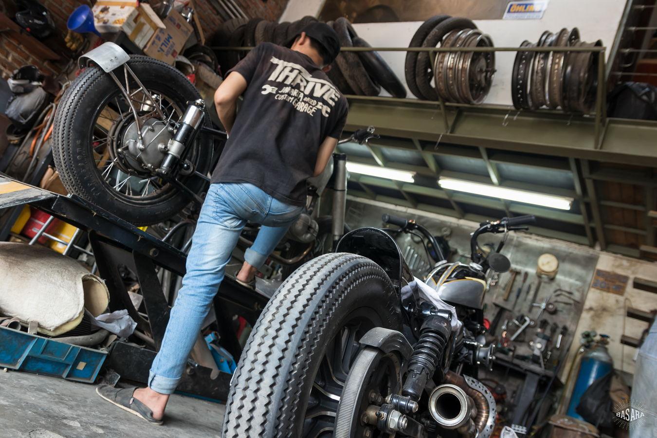 Thrive Motorcycle – Jakarta