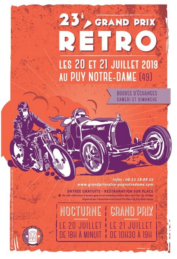 Grand prix rétro – Puy Notre-Dame